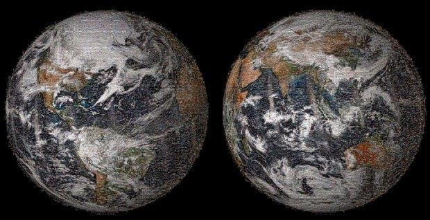 Так выглядит «мировое селфи». Изображение № 1.