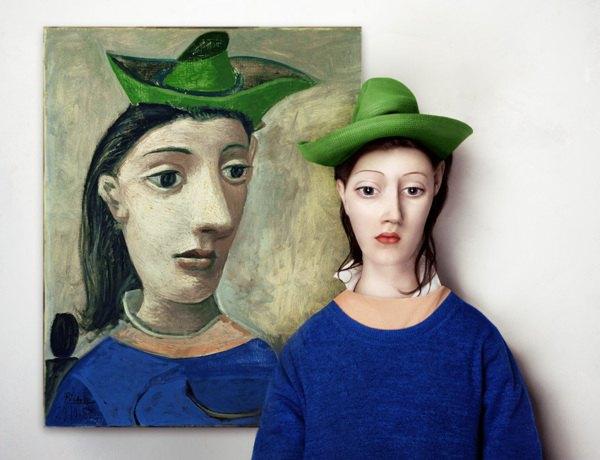 Художница оживила моделей Малевича, Модильяни и Пикассо. Изображение № 1.