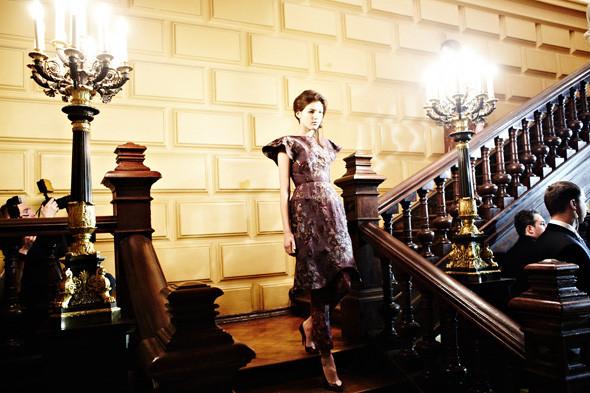 Репортаж: Показ Vika Gazinskaya FW 2012. Изображение № 42.