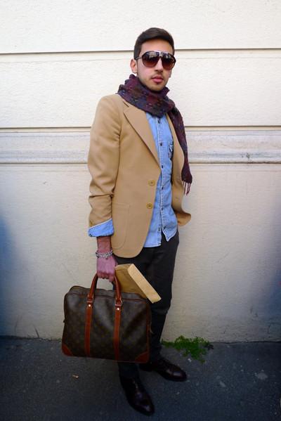 Изображение 10. Milan Fashion Week: день третий – луки.. Изображение № 23.