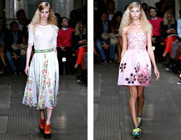 Неделя моды в Лондоне: Показы Issa, Holly Fulton, House of Holland, John Rocha и Moschino. Изображение № 42.
