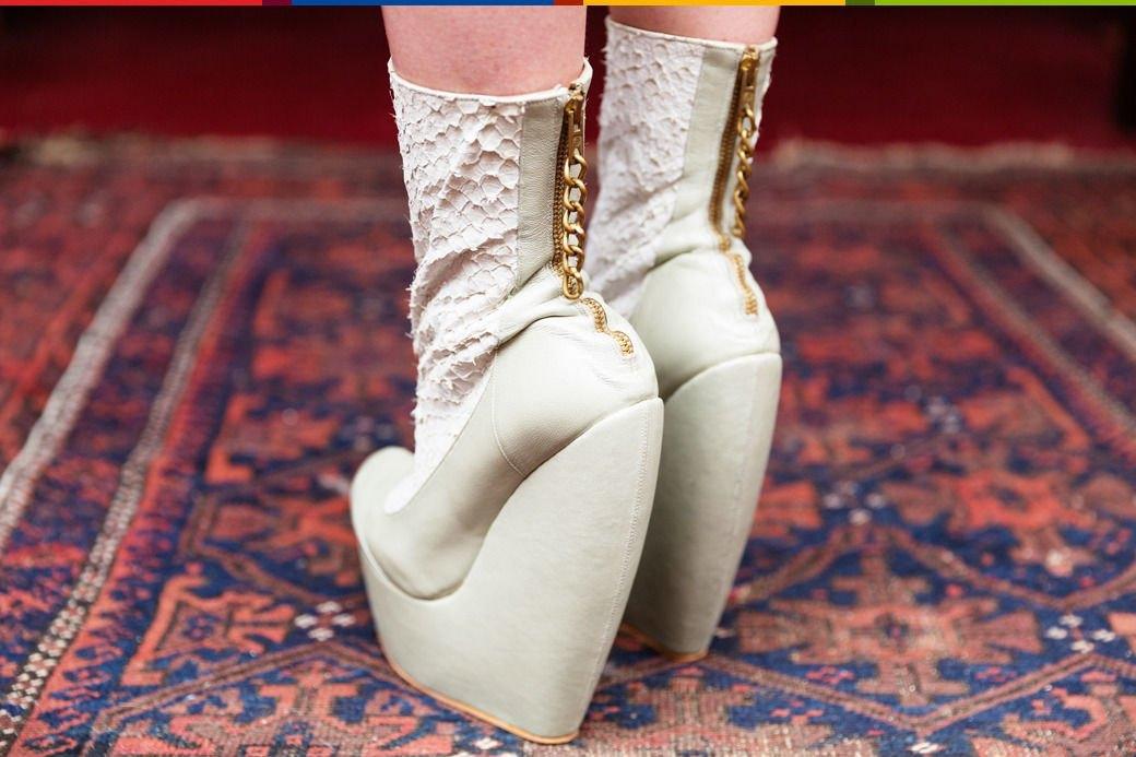 Психоделия: Дизайнер обуви Джорджи Би и ее коллекция винтажа. Изображение № 28.