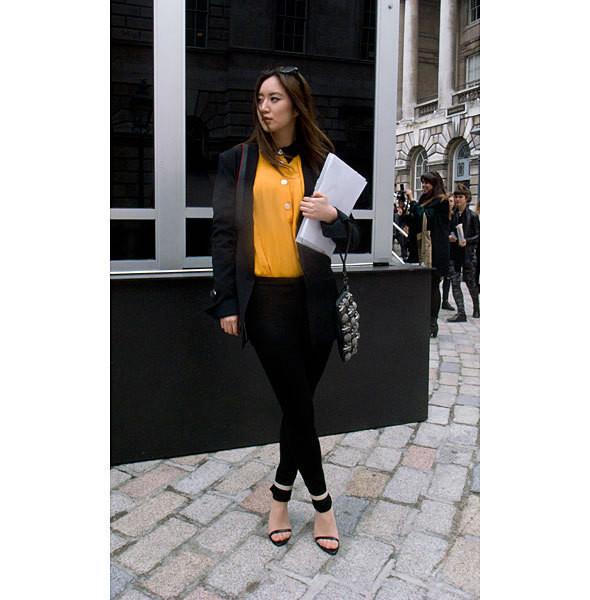 London Fashion Week: день первый — луки. Изображение № 23.