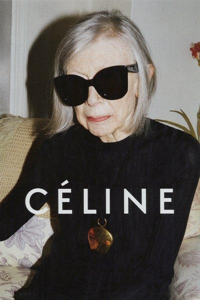 Новым лицом Céline стала 80-летняя писательница Джоан Дидион. Изображение № 1.