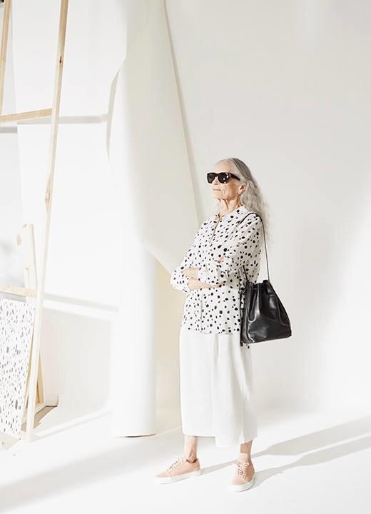 86-летняя модель стала лицом кампании Vans x  & Other Stories. Изображение № 4.