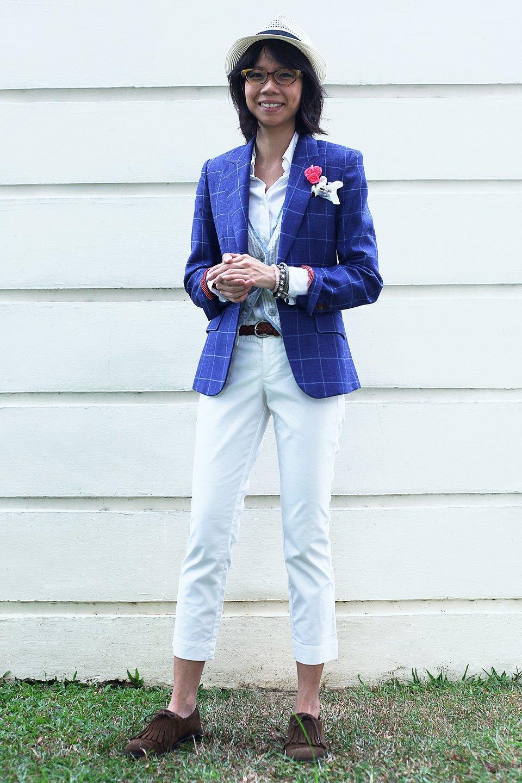 Гардероб: Джени Кай,  директор моды Esquire Singapore . Изображение № 30.