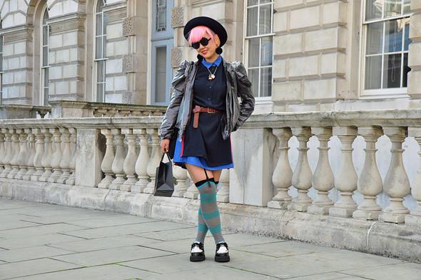 London Fashion Week: Уличный стиль, часть 3. Изображение № 2.