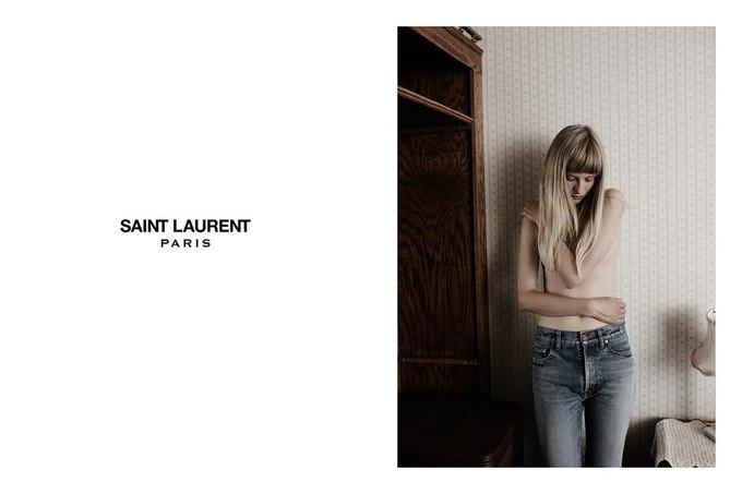Звезда «Любви» Гаспара Ноэ и сын Килмера снялись в рекламе Saint Laurent. Изображение № 13.