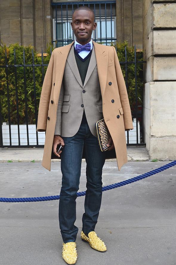 Неделя моды в Париже: Streetstyle. Изображение № 6.