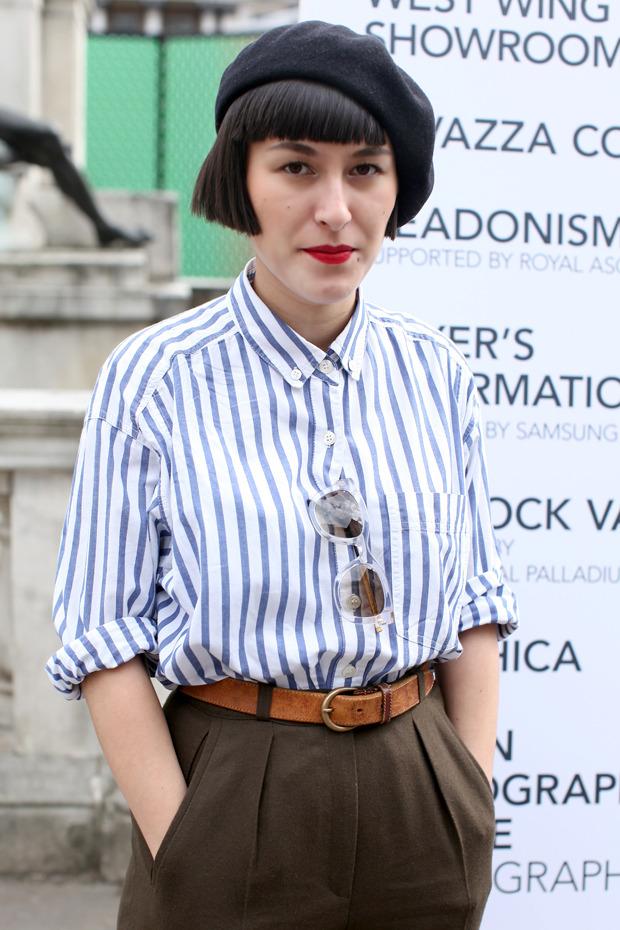 Streetstyle: Неделя моды в Лондоне, часть 1. Изображение № 23.