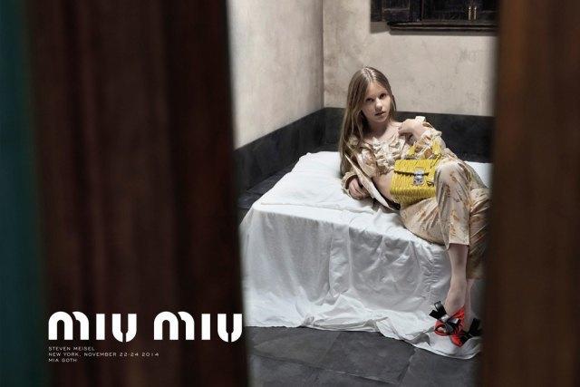 Рекламу Miu Miu  запретили из-за ассоциаций  с педофилией. Изображение № 1.