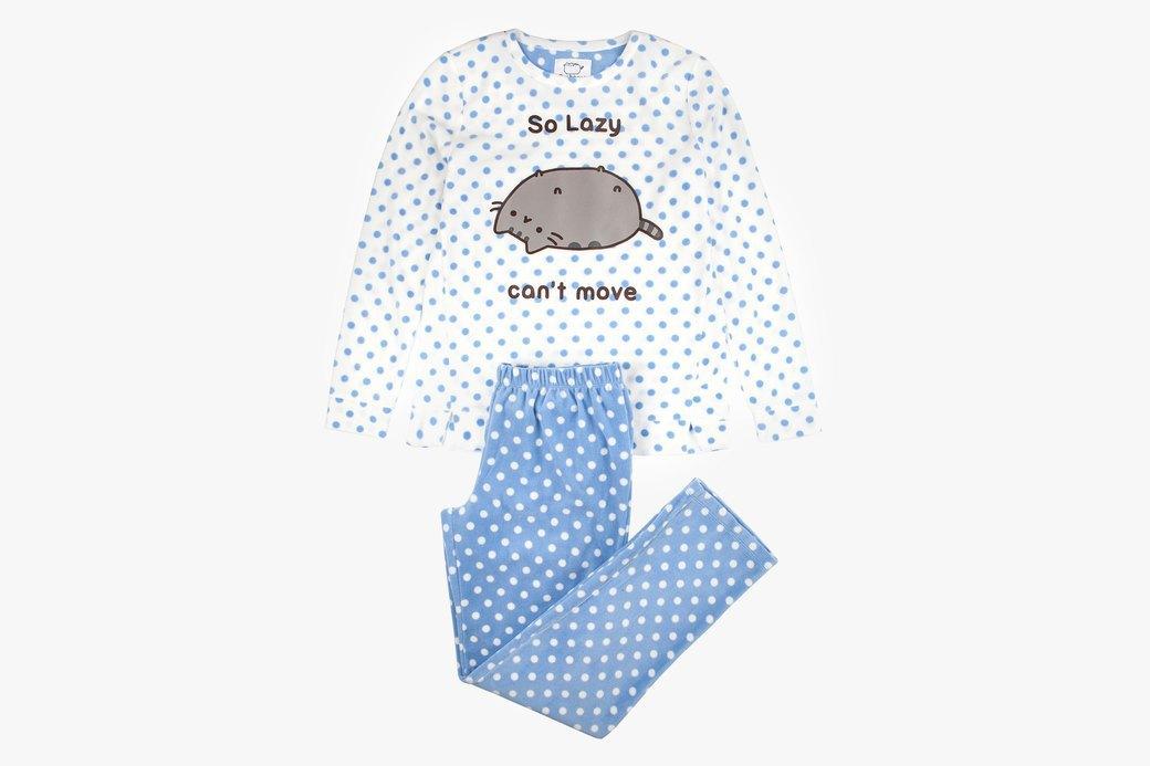 Pusheen-пижама, тапочки  и другие вещи  для ленивых дней. Изображение № 1.