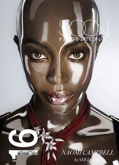 Наоми Кэмпбелл на обложке SOON International. Изображение № 8.