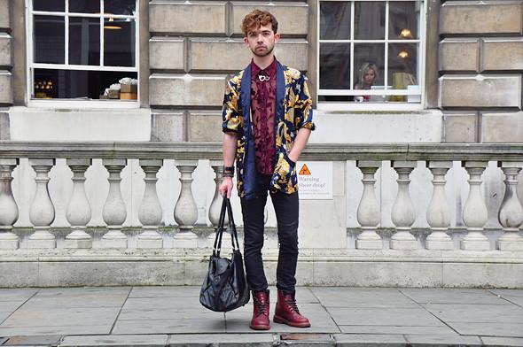 London Fashion Week: Уличный стиль, часть 3. Изображение № 30.