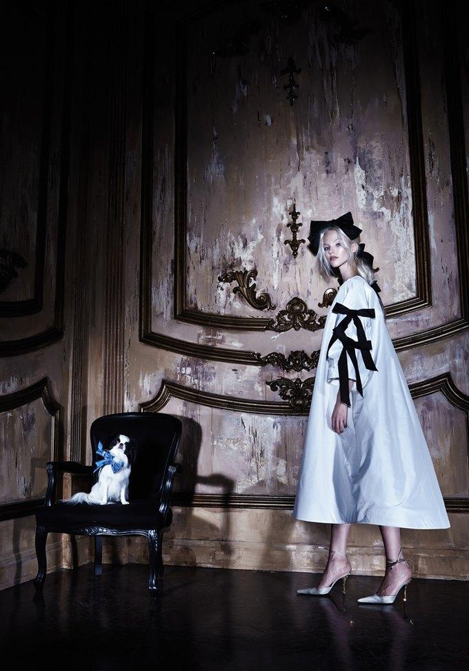 Саша Лусс с собачкой в новом лукбуке Bohemique. Изображение № 6.