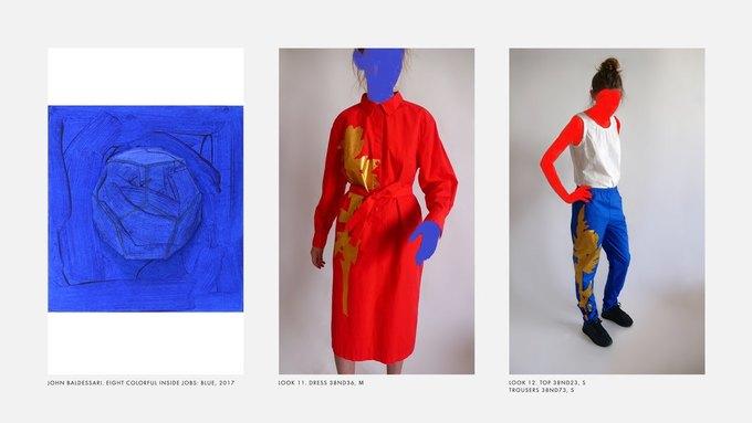 Лукбук Nina Donis, вдохновлённый полотнами Джона Балдессари. Изображение № 6.