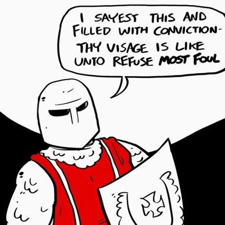 На кого подписаться: Комиксы о предысториях гифов. Изображение № 9.