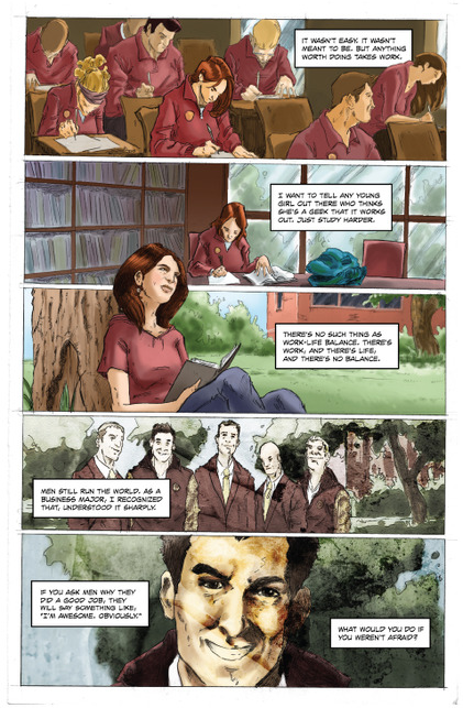 Выходит комикс о жизни  и карьере COO Facebook Шерил Сэндберг. Изображение № 4.