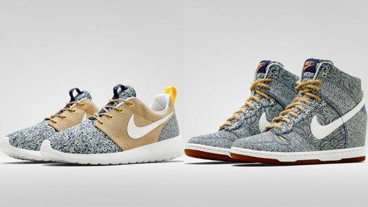 Универмаг Liberty переосмыслил  кроссовки Nike. Изображение № 2.