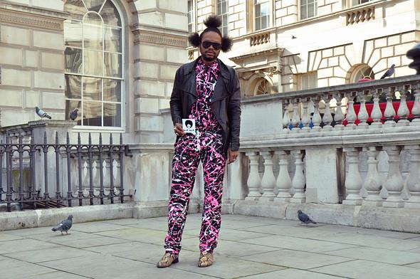 London Fashion Week: Уличный стиль, часть 3. Изображение № 9.