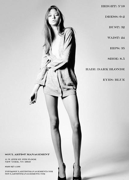 Композитки пяти модельных агентств к Нью-Йоркской неделе моды. Изображение № 11.