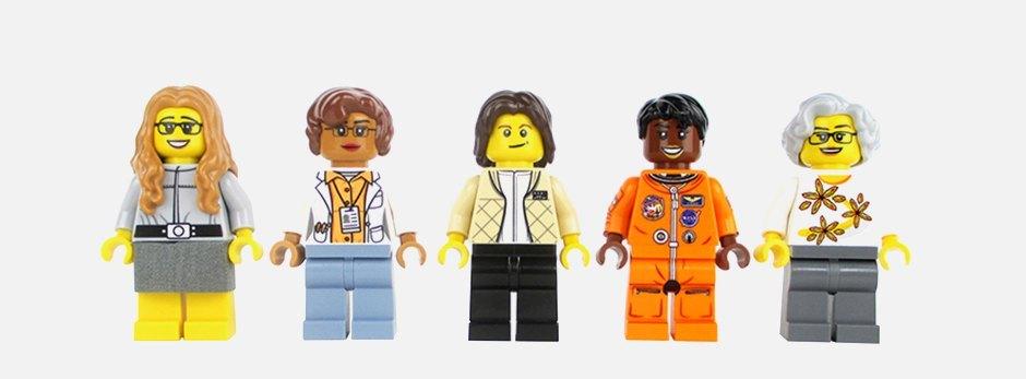 Набор LEGO «Женщины NASA». Изображение № 1.