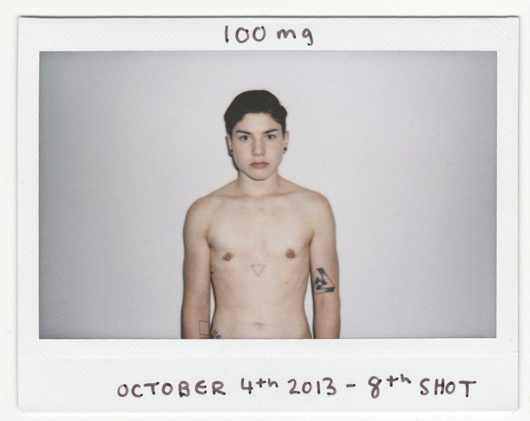 """«Из женщины в """"мужчину""""»:  Процесс трансформации в серии автопортретов. Изображение № 4."""