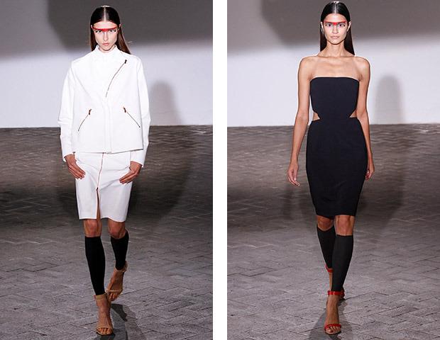 Неделя моды в Париже: показы Veronique Branquinho, Cedric Charlier, Anthony Vaccarello и Aganovich. Изображение № 11.