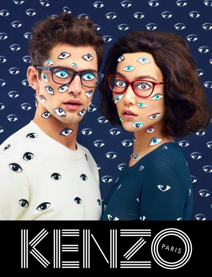 Котики и глаза в новой кампании Kenzo. Изображение № 6.