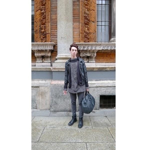 Изображение 8. Milan Fashion Week: день шестой — луки.. Изображение № 8.