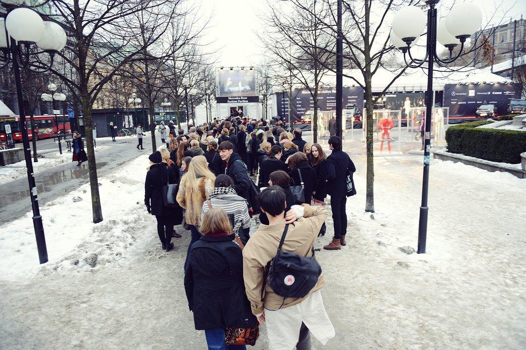 Шубы и горох на Stockholm Fashion Week. Изображение № 53.