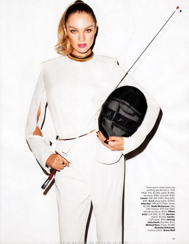 Съемка Терри Ричардсона для американского Harper's Bazaar . Изображение № 47.