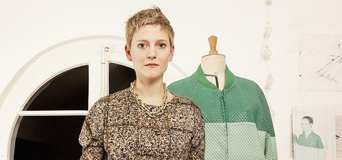 Дизайнер Камилла Кунц:  Мужская одежда, силикон  и мраморный принт. Изображение № 1.