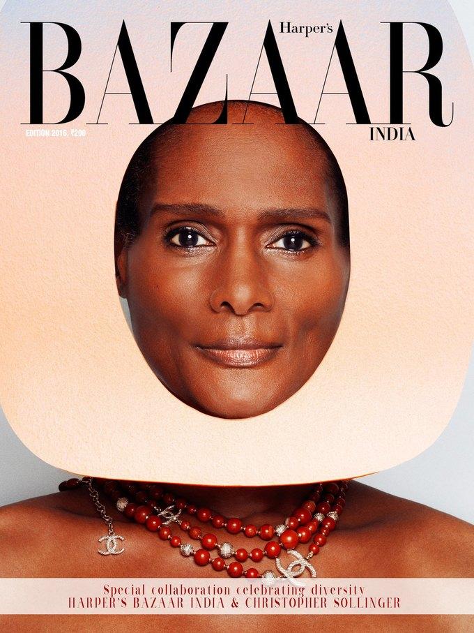 Для обложки Harper's Bazaar впервые снялись модели-трансгендеры. Изображение № 1.