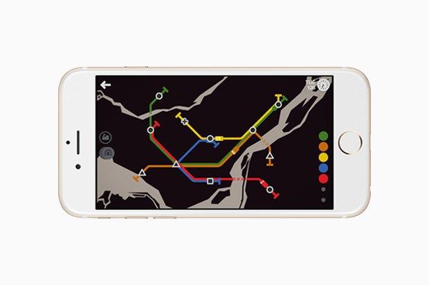 Хит сезона: Мобильная головоломка Mini Metro. Изображение № 3.