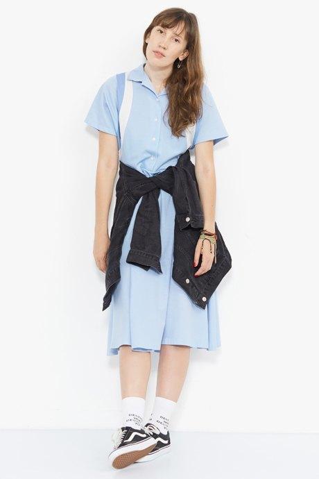 Младший редактор Vogue Олеся Седова о любимых нарядах. Изображение № 4.