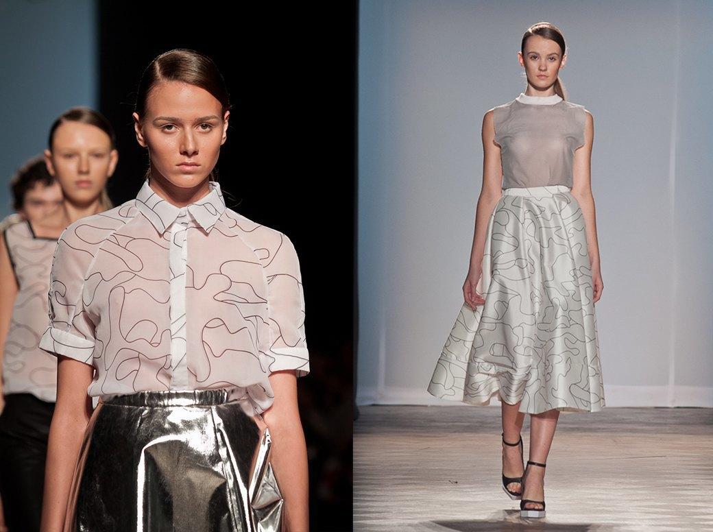 Показ Ksenia Schnaider на Aurora Fashion Week. Изображение № 2.