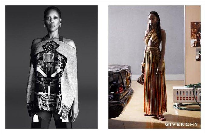 Для новой кампании Givenchy снялись только азиатки и афроамериканки. Изображение № 1.