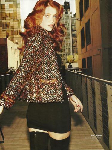 Фантастическая миссис Фокс: 8 моделей с рыжими волосами. Изображение № 33.