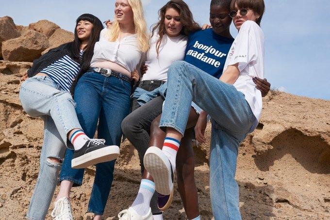 Сила денима: Monki показали лукбук новой коллекции «Just Jeans» . Изображение № 5.