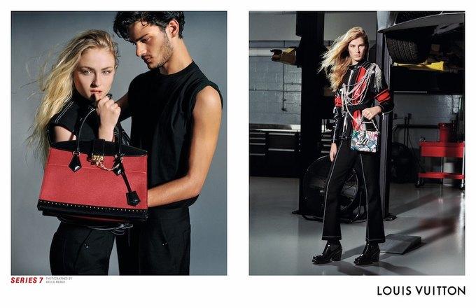 Катрин Денёв и Джейден Смит в новой кампании Louis Vuitton. Изображение № 4.