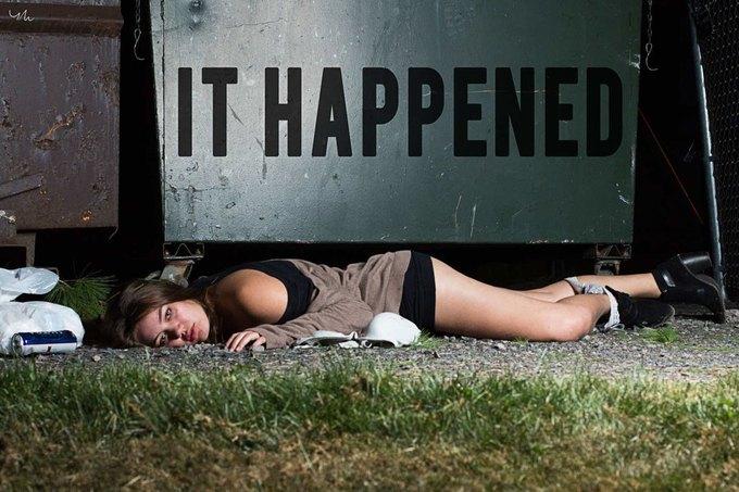 Вышла пронзительная фотосерия о насилии  «It Happened». Изображение № 2.