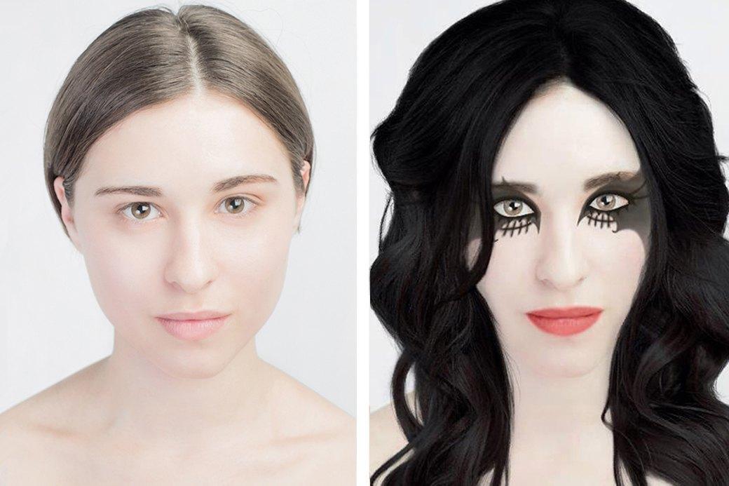 До и после макияжа:  Редакция тестирует  бьюти-приложения. Изображение № 16.