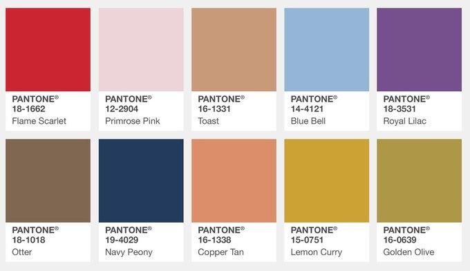 Pantone назвал главные цвета этой осени. Изображение № 2.
