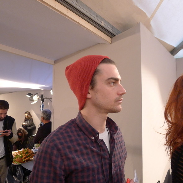 Изображение 29. Milan Fashion Week: бэкстейдж Alberta Ferretti.. Изображение № 17.