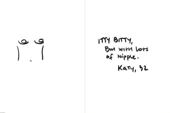 «Крохотные, но с большими сосками», — Кэти, 32. Изображение № 20.