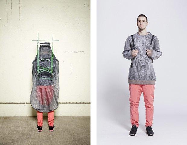Дизайнер Камилла Кунц:  Мужская одежда, силикон  и мраморный принт. Изображение № 8.
