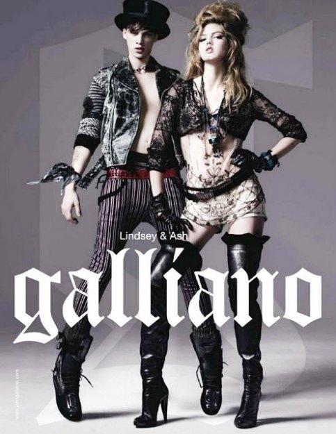 Рекламная кампания John Galliano. Изображение № 4.