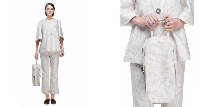 Платья в бельевом стиле в лукбуке KamenskayaKononova. Изображение № 10.