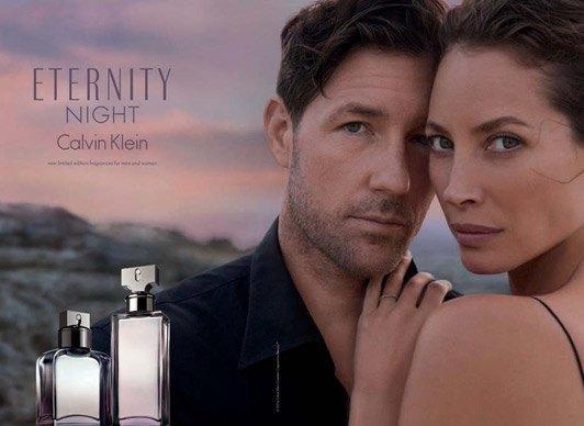 Кристи Терлингтон и Эд Бернс в рекламной кампании аромата Eternity Night. Изображение № 1.